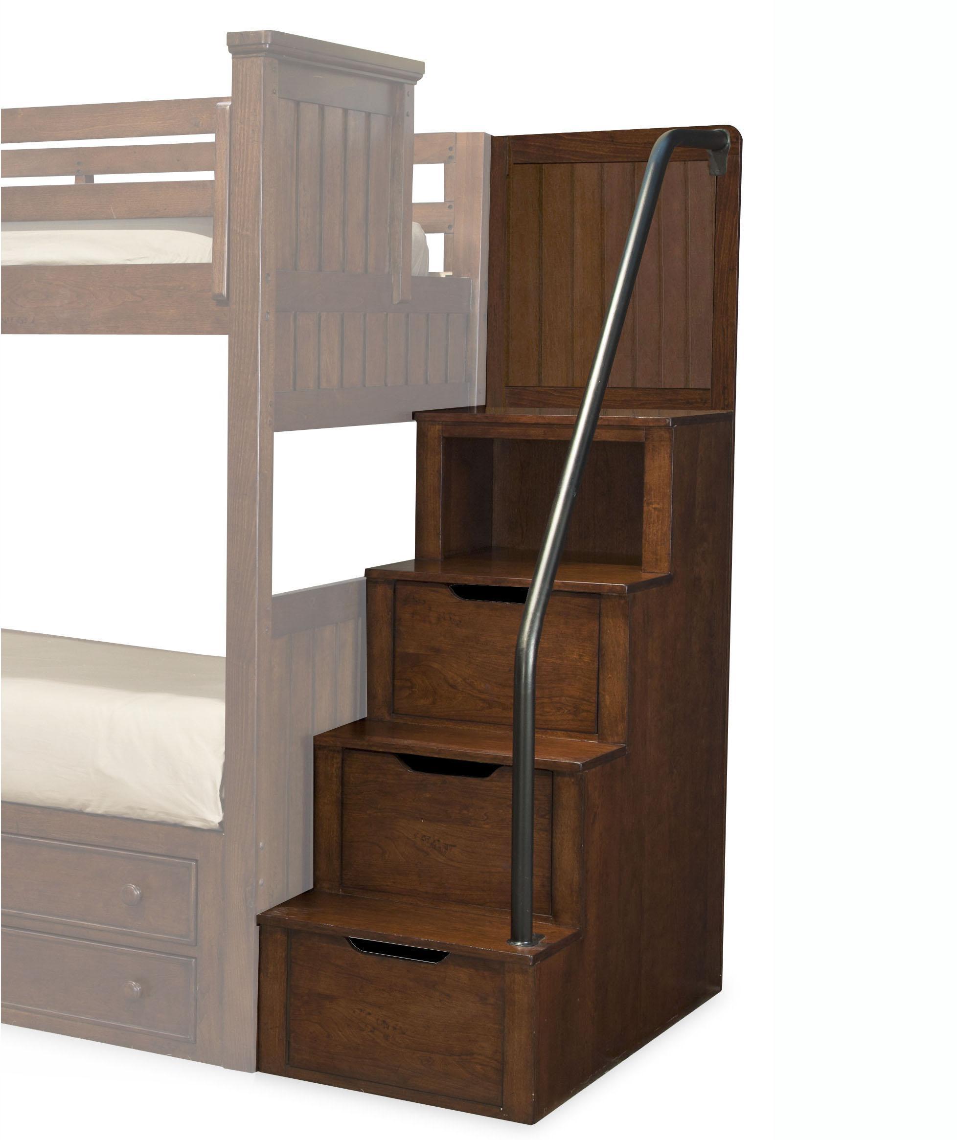 Dawson's Ridge Bunk Loft Steps by Legacy Classic Kids at HomeWorld Furniture
