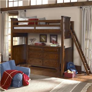 Legacy Classic Kids Dawson's Ridge Complete Twin Loft w/ Ladder