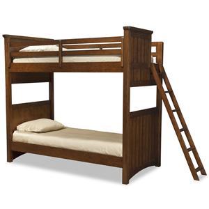 Legacy Classic Kids Dawson's Ridge Full-over-Full Bunk w/ Ladder
