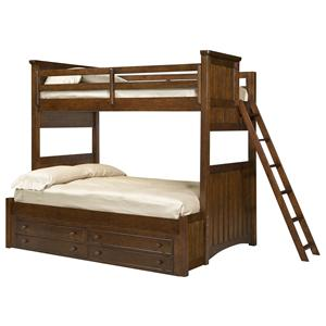 Legacy Classic Kids Dawson's Ridge Twin-over-Full Bunk w/ Underbed Storage Unit