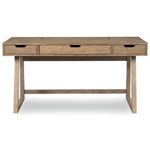 Contemporary Desk with USB Outlet