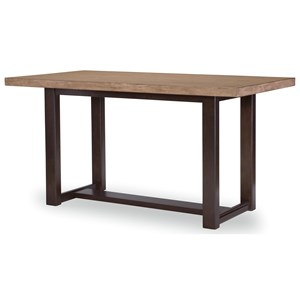 Transitional Counter Height Table