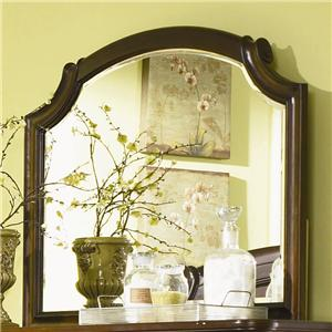 Legacy Classic Evolution Scroll Top Bureau Mirror