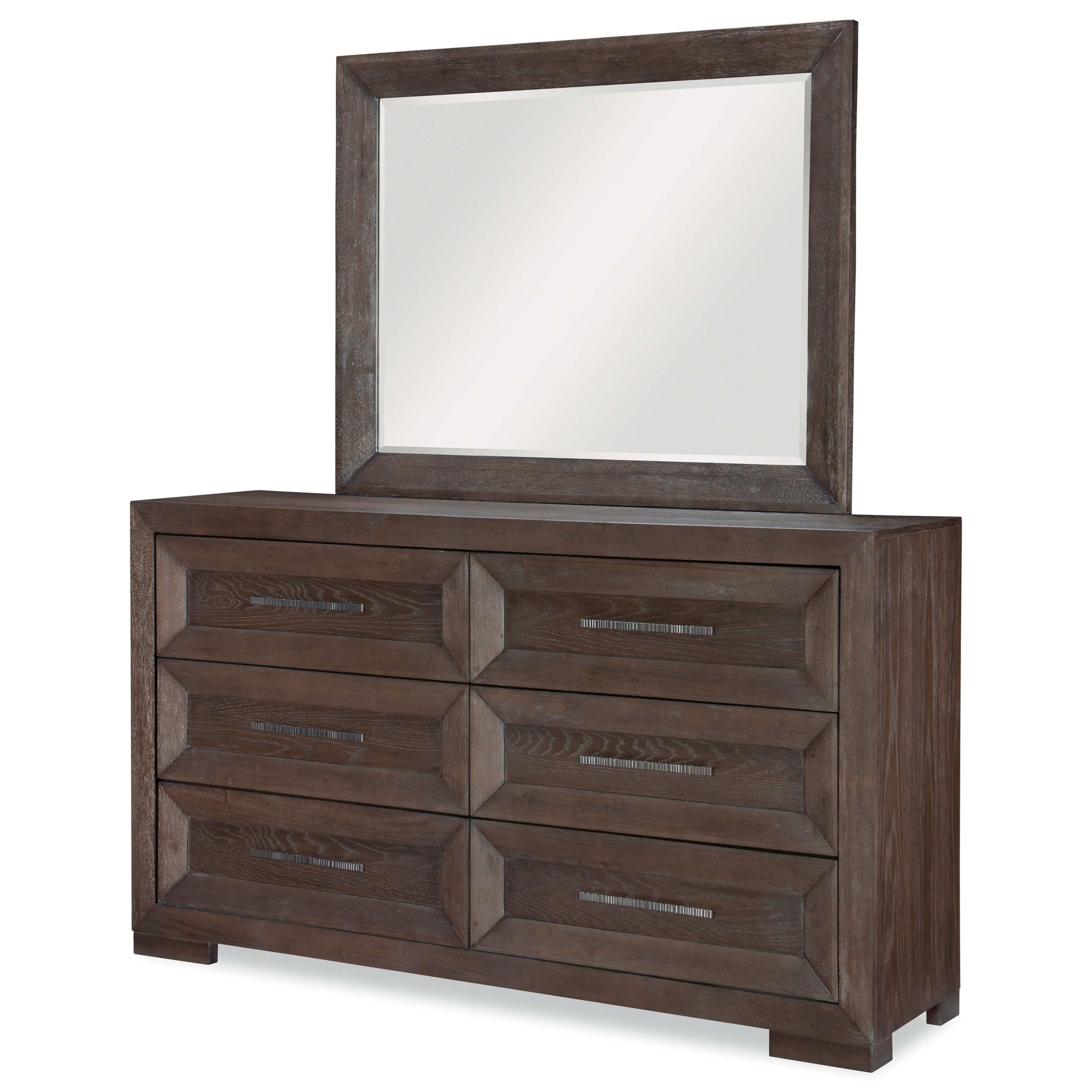 Facets Dresser and Mirror Set by Legacy Classic at Stoney Creek Furniture