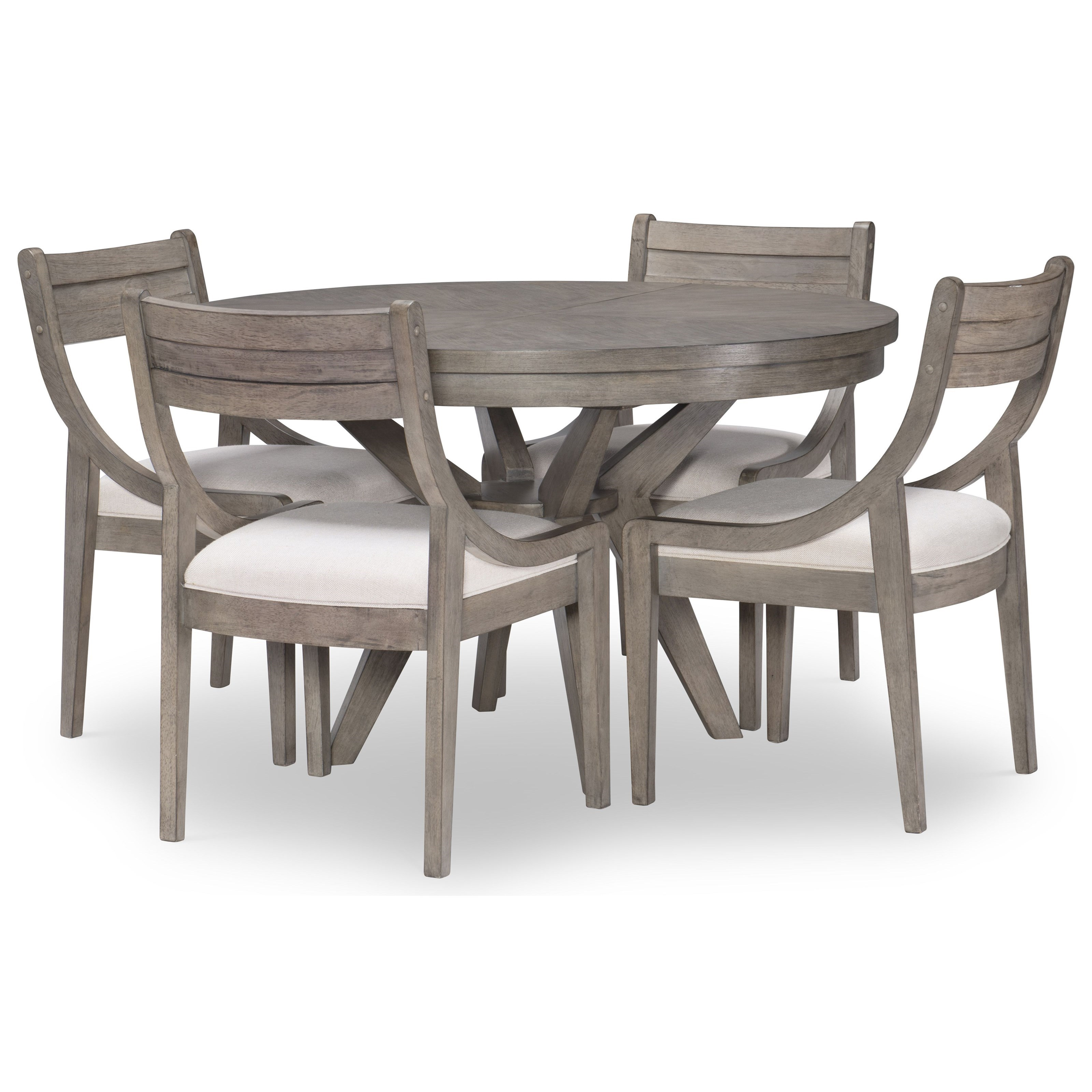 Greystone 5-Piece Table and Chair Set by Legacy Classic at Johnny Janosik