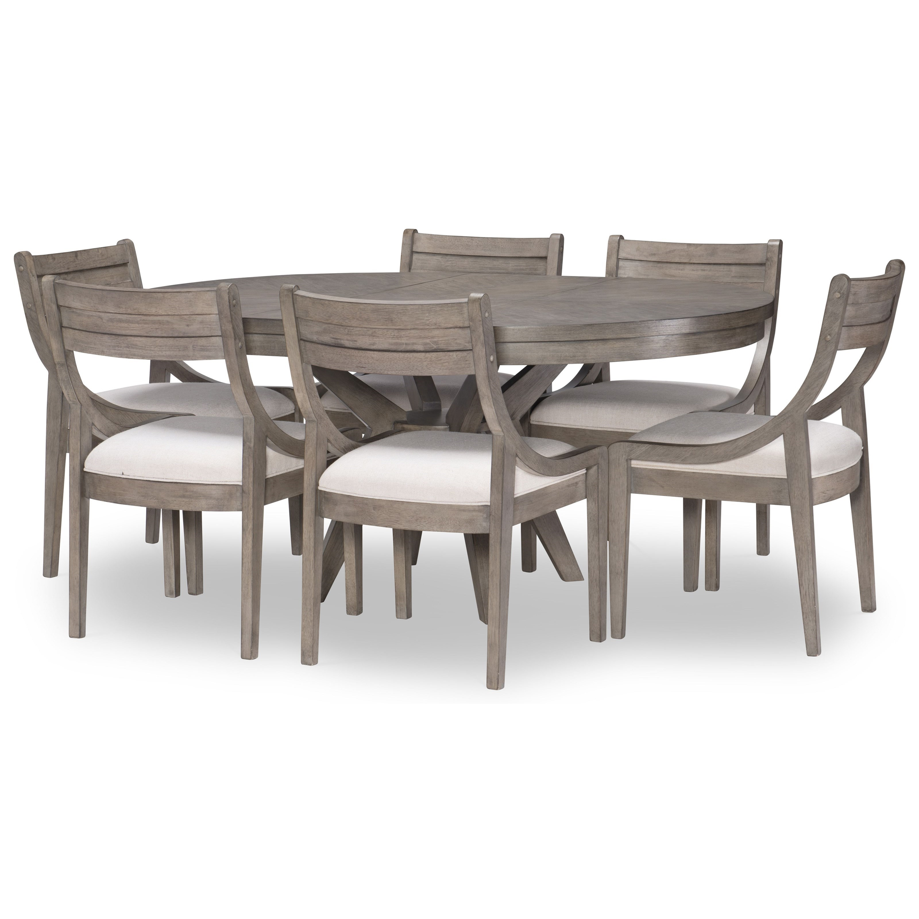 Greystone 7-Piece Table and Chair Set by Legacy Classic at Stoney Creek Furniture