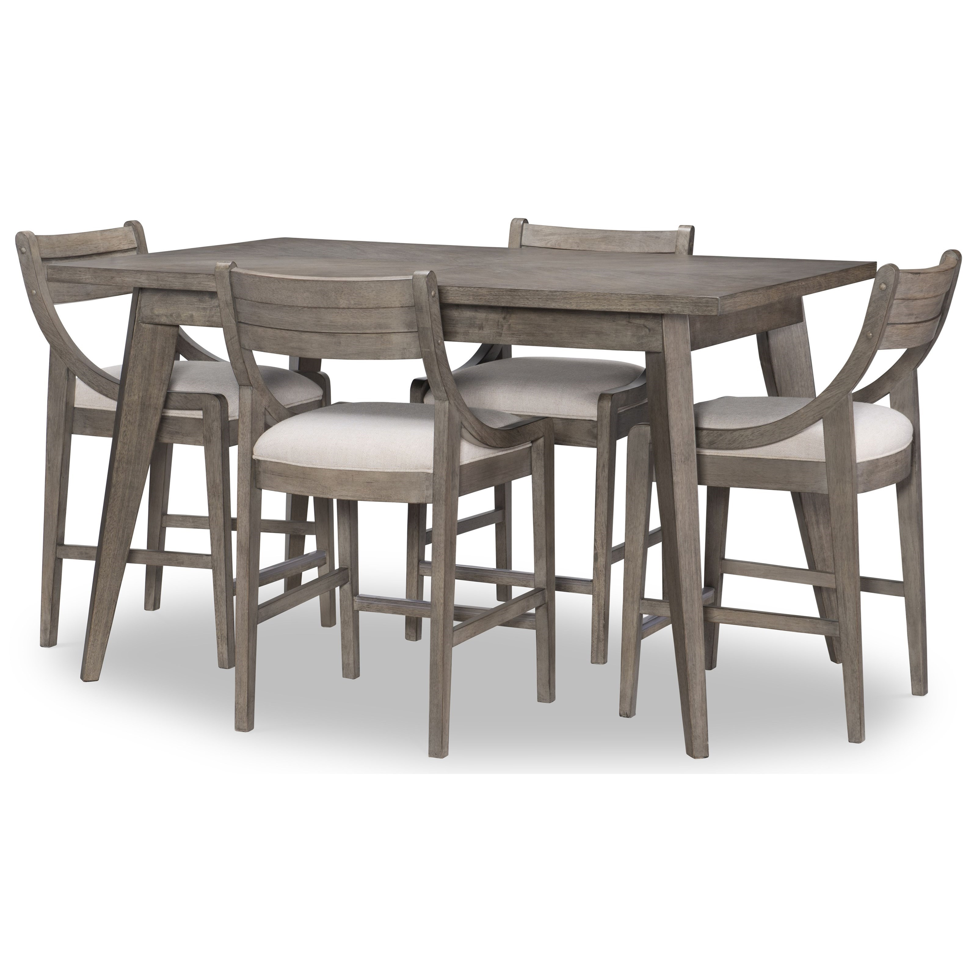 Greystone 5-Piece Pub Table Set by Legacy Classic at Stoney Creek Furniture