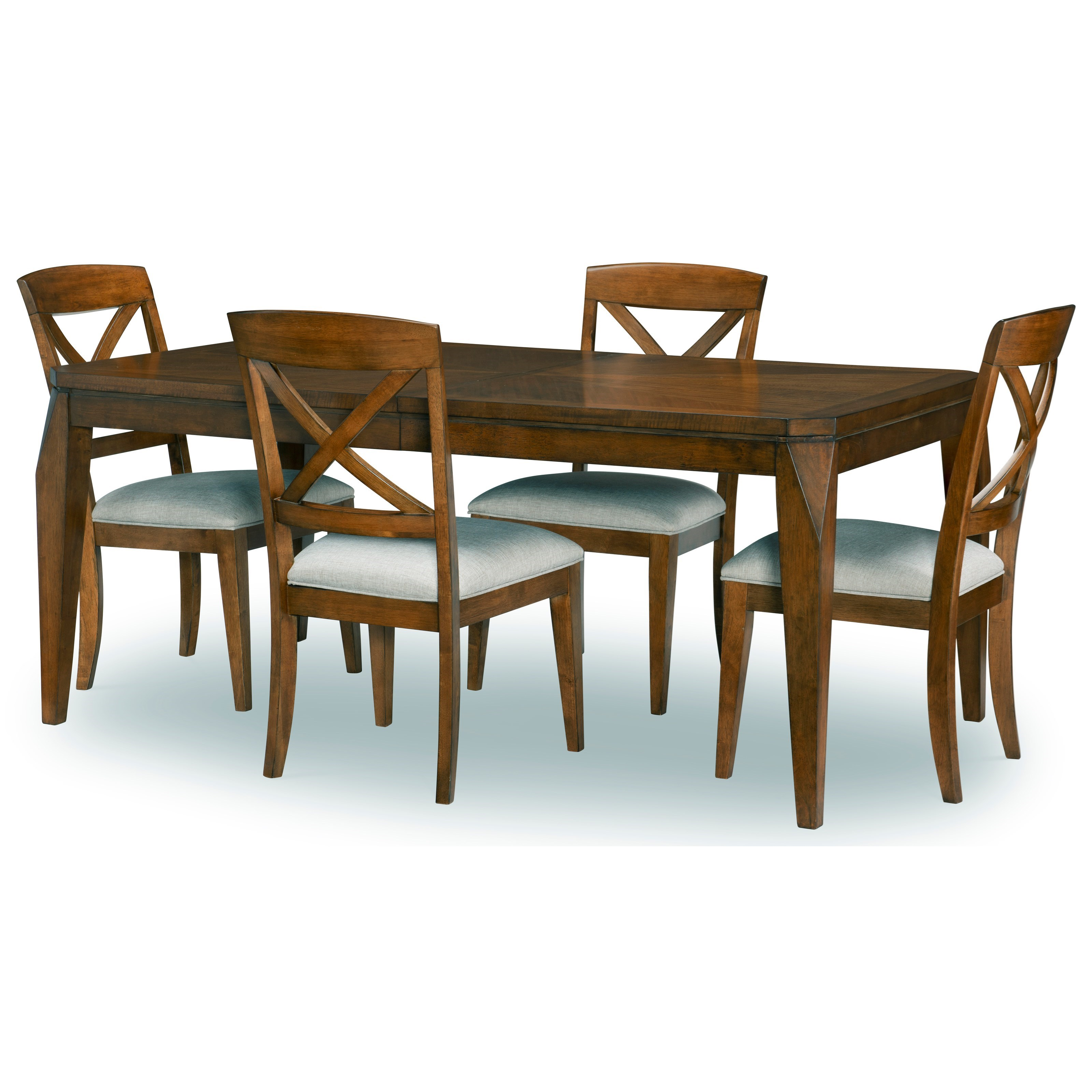 Hamilton Hamilton 5-Piece Dining Table Set by Legacy Classic at Morris Home