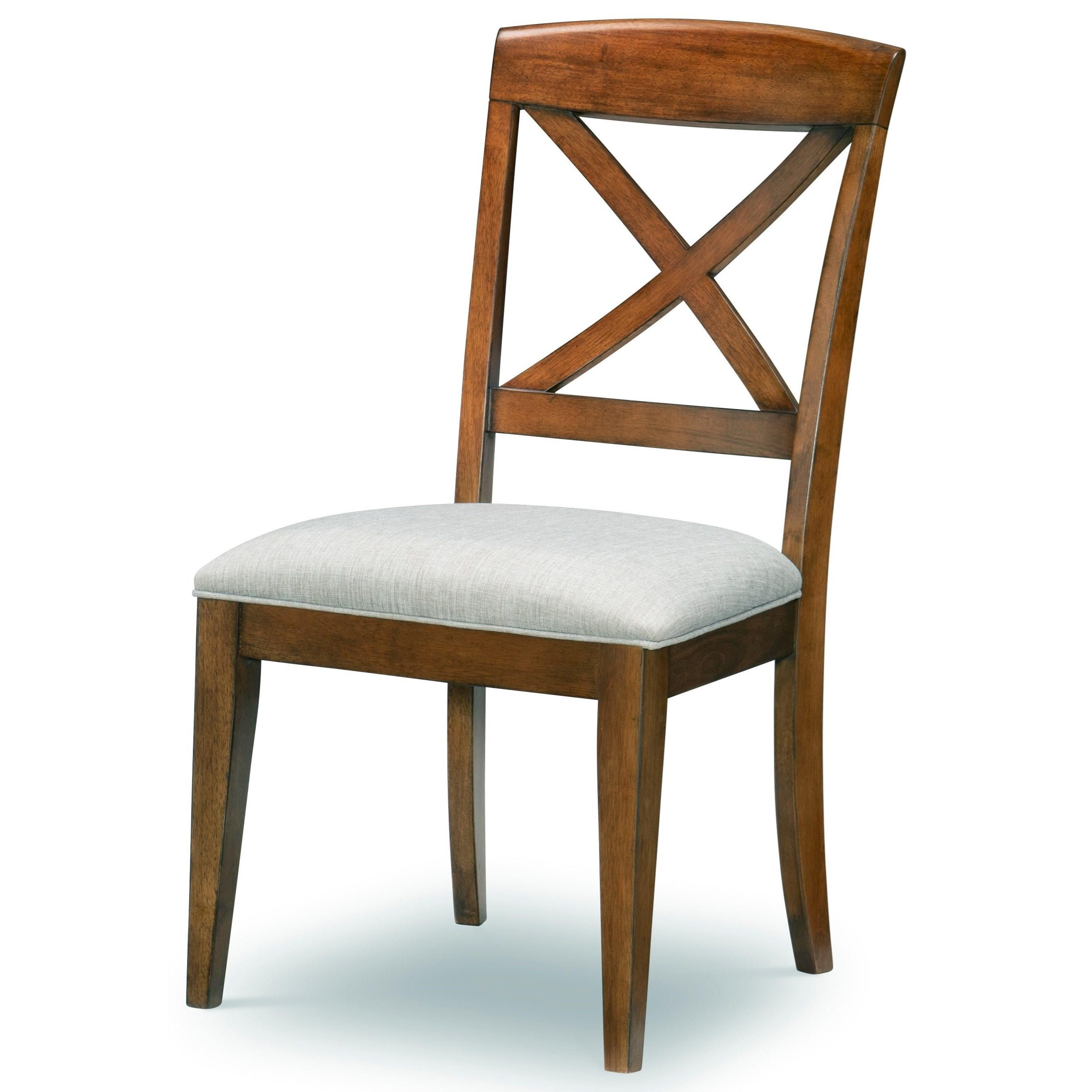 Highland X-Back Side Chair by Legacy Classic at Stoney Creek Furniture
