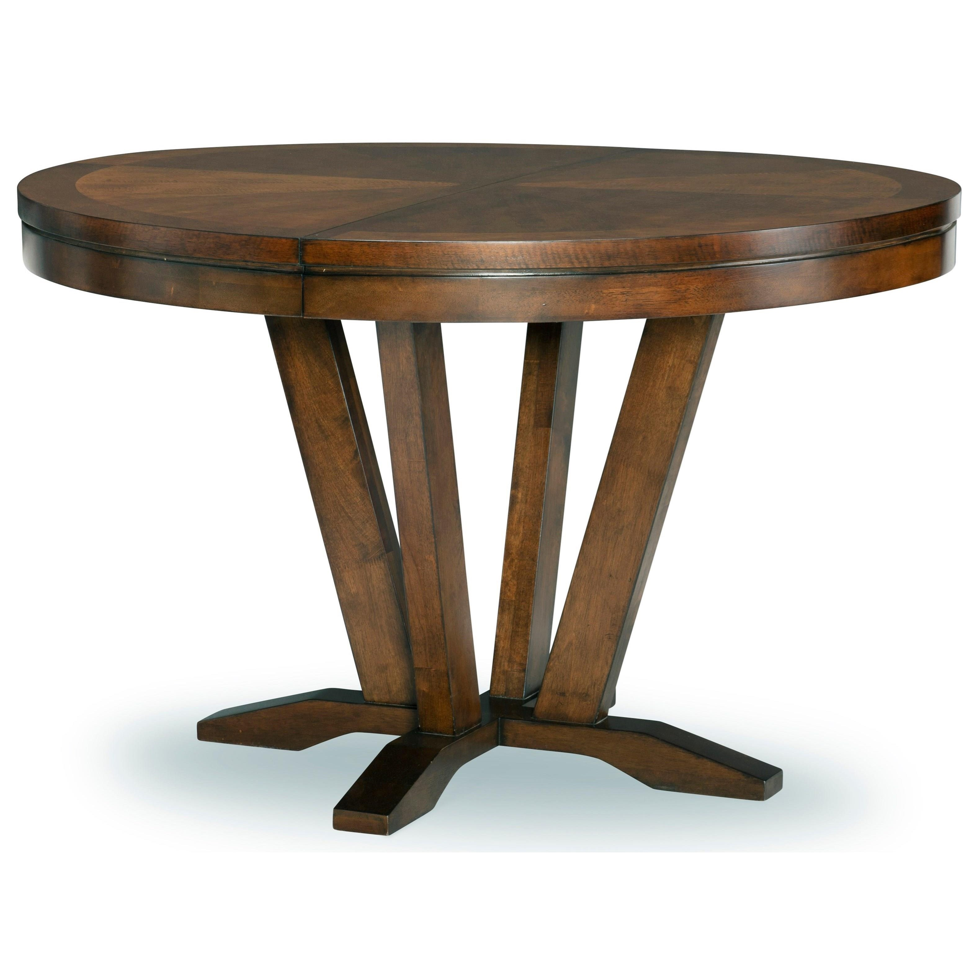 Highland Round Pedestal Table by Legacy Classic at Stoney Creek Furniture