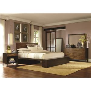 Legacy Classic Kateri Cal. King Platform Bedroom Group