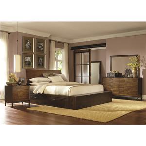 Legacy Classic Kateri Cal. King Platform Two Storage Bedroom Group