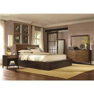 Legacy Classic Kateri King Platform Two Storage Bedroom Group