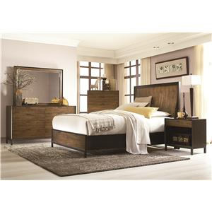 Legacy Classic Kateri King Panel Storage Bedroom Group
