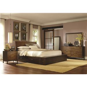 Legacy Classic Kateri Queen Platform Two Storage Bedroom Group