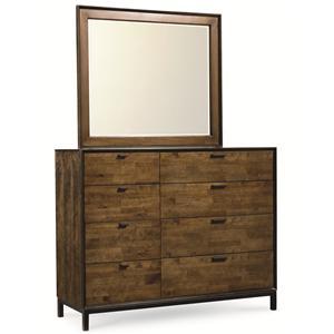 Legacy Classic Kateri Bureau and Mirror Combo