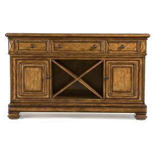 Credenza Sideboard with Marble Top