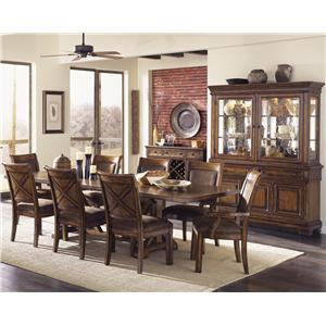 Legacy Classic Larkspur 9 Piece Table & Chair Set