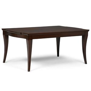 Legacy Classic Laurel Heights Rectangular Leg Dining Table