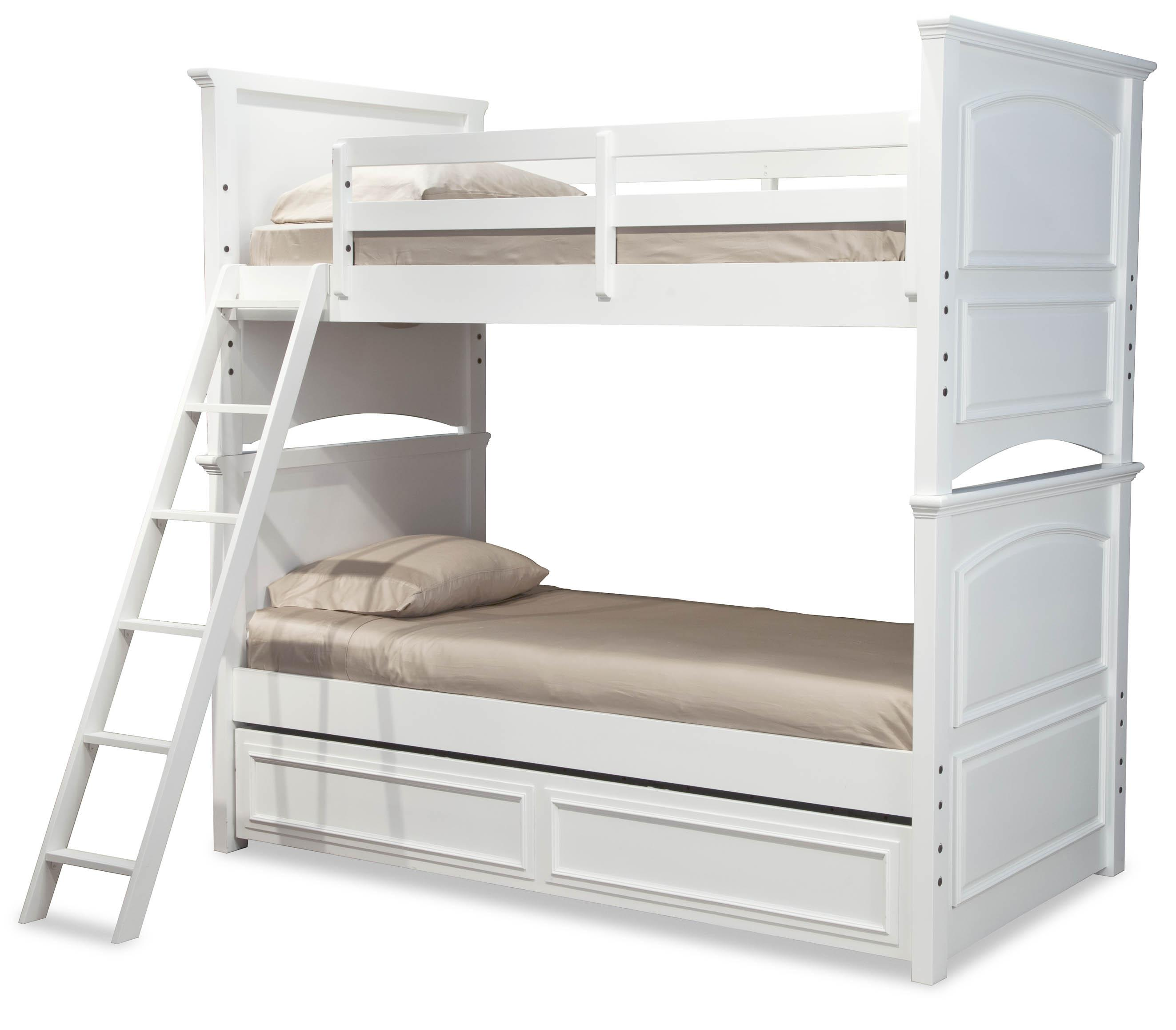 Madison Complete Twin over Full Bunk Bed w/ Trundle by Legacy Classic Kids at Suburban Furniture