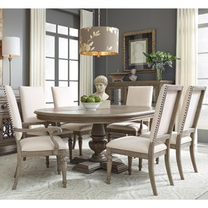 Relaxed Vintage Seven Piece Dining Set