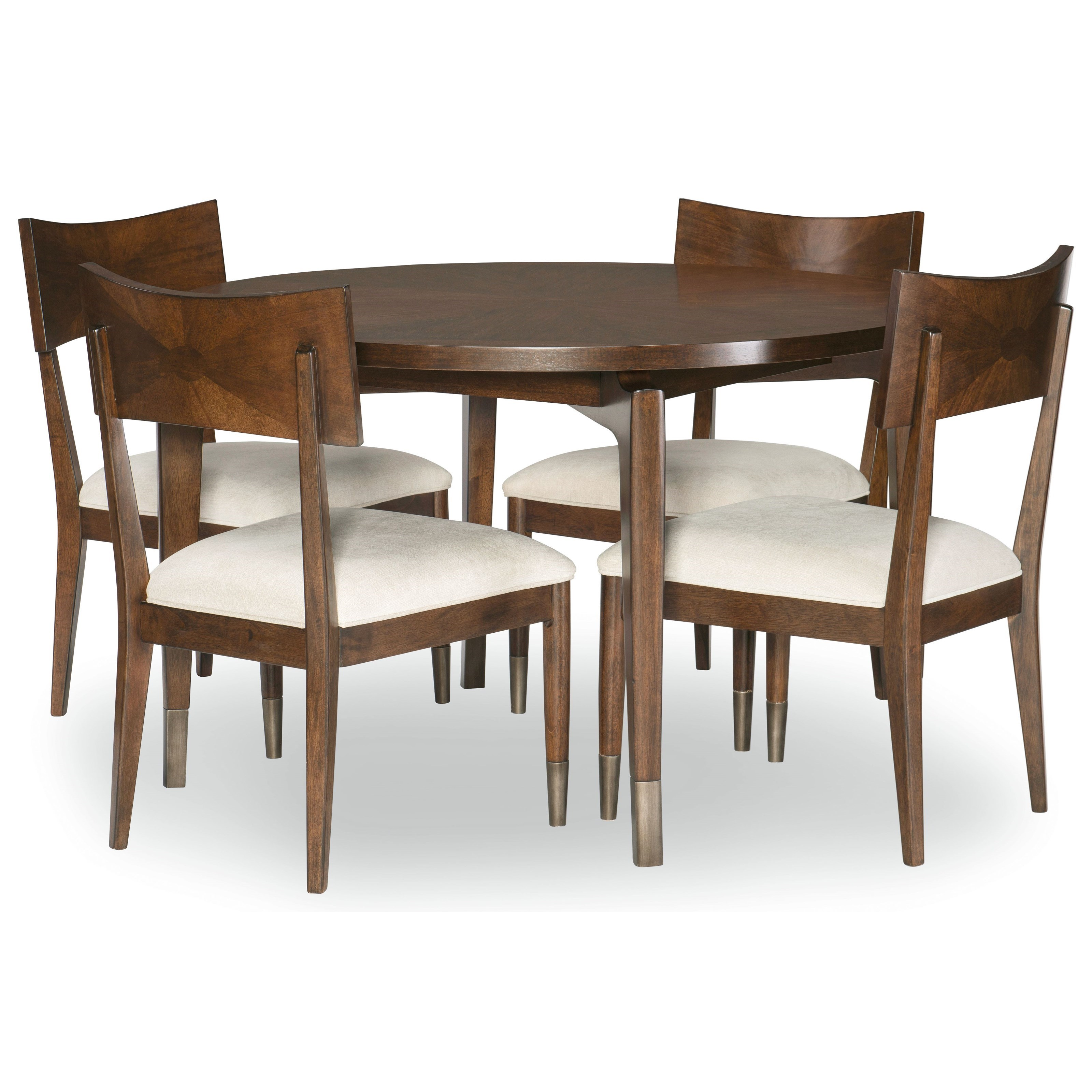 Savoy 5-Piece Table and Chair Set at Virginia Furniture Market
