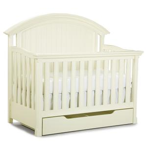 Legacy Classic Kids Summer Breeze Convertible Crib with Drawer
