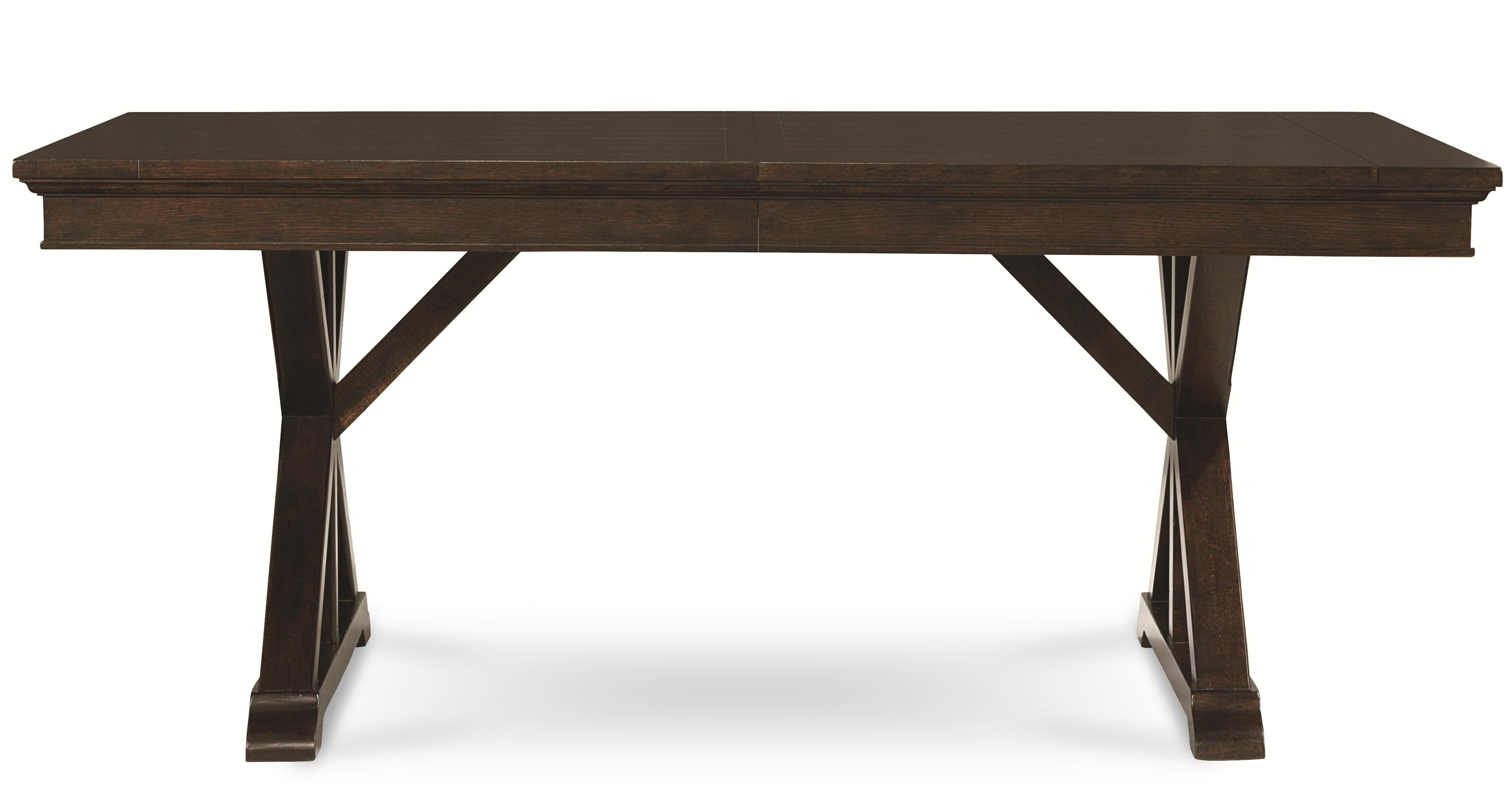 Thatcher Trestle Table by Legacy Classic at Godby Home Furnishings