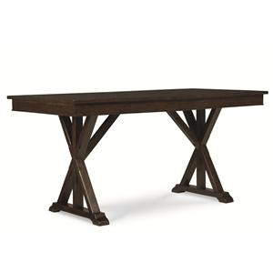 Pub Table with Trestle Shape