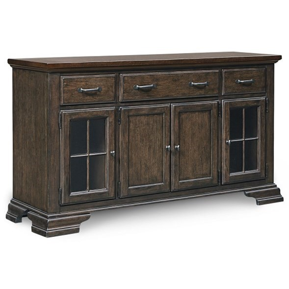 Thatcher Credenza by Legacy Classic at Powell's Furniture and Mattress