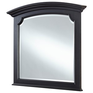 Transitional Arched Mirror