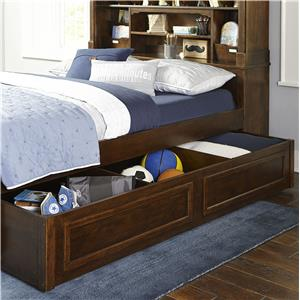 Legacy Classic Kids Big Sur by Wendy Bellissimo Full Bookcase Bed