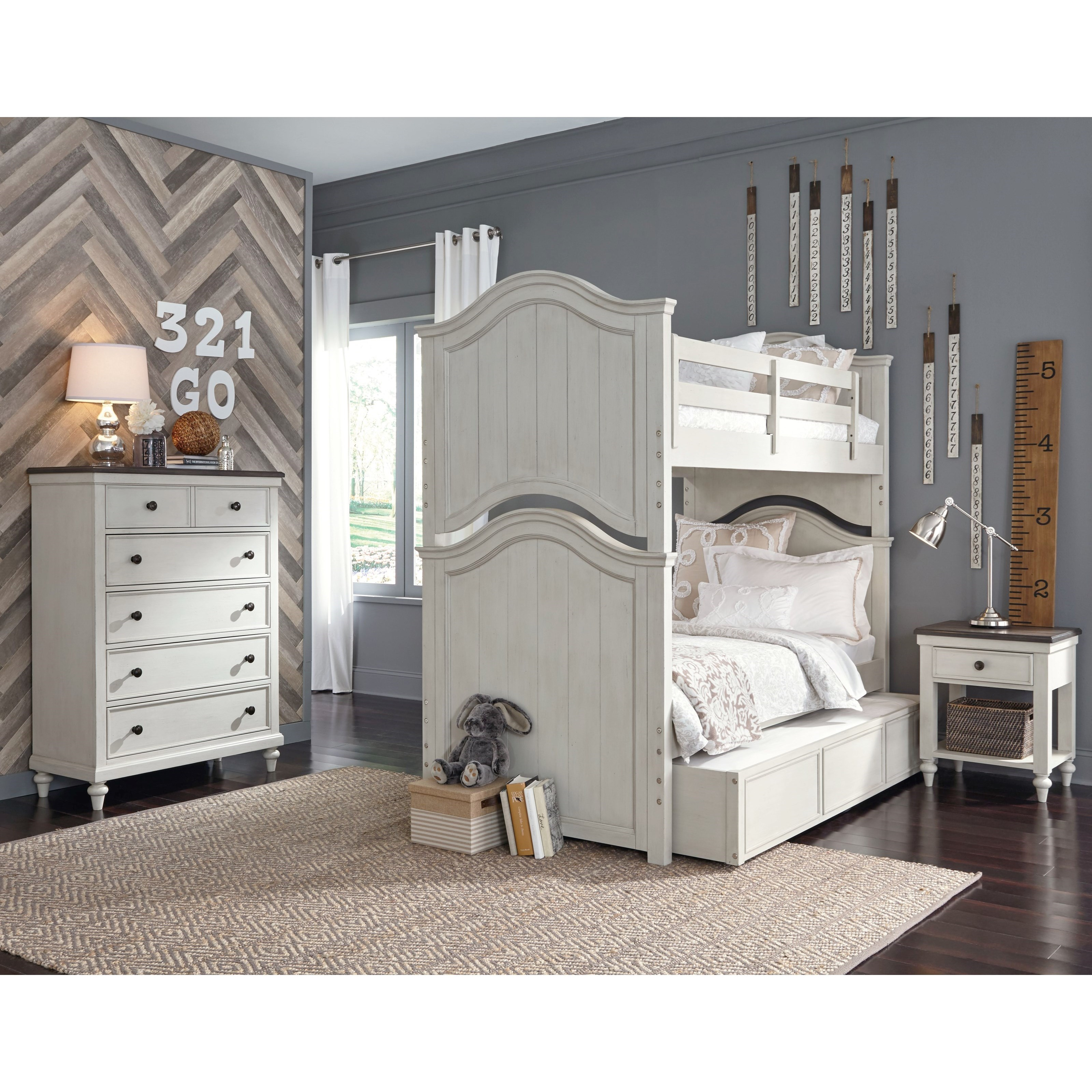 Brookhaven Youth Full Bedroom Group by Legacy Classic Kids at Jacksonville Furniture Mart