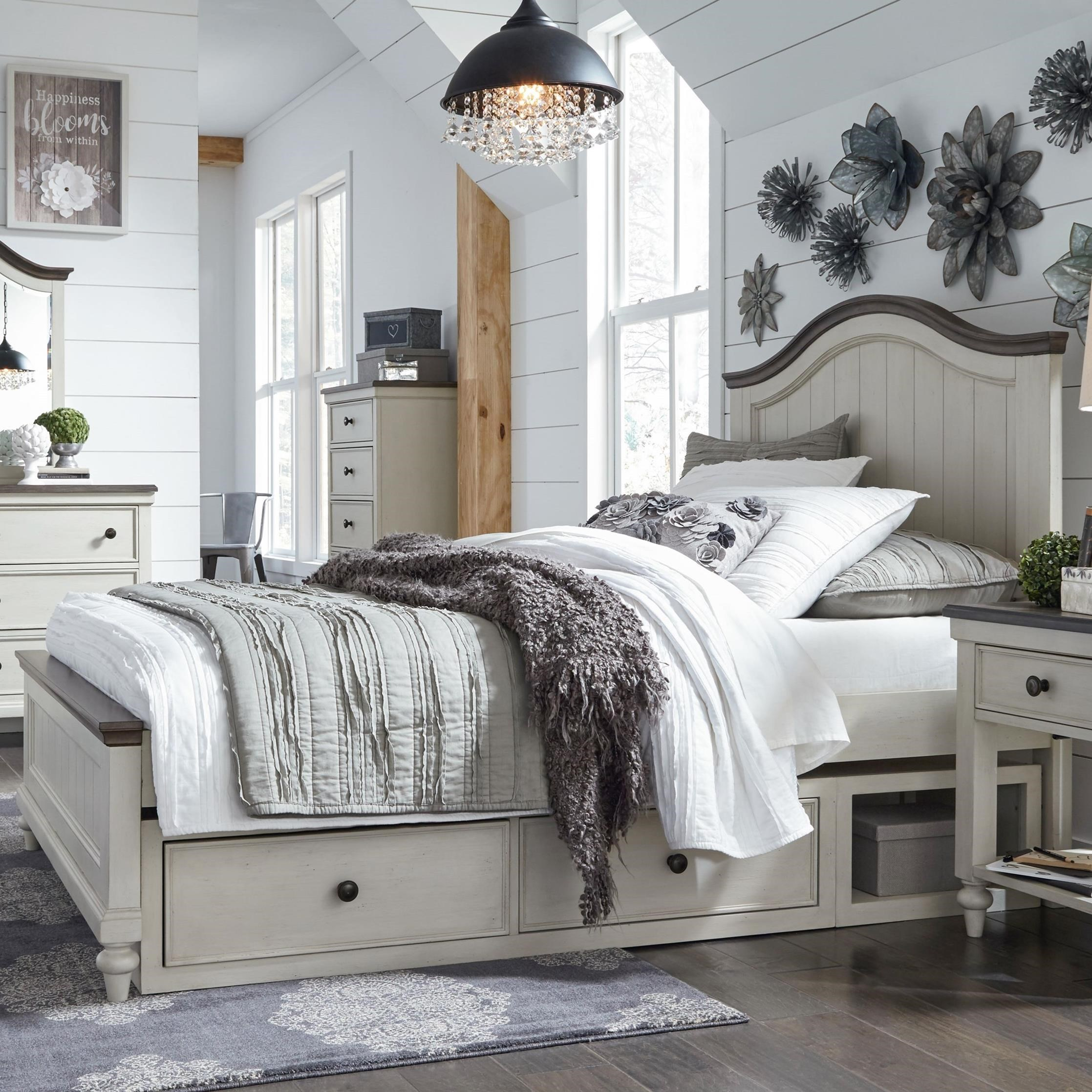 Brookhaven Youth Twin Panel Bed  by Legacy Classic Kids at EFO Furniture Outlet