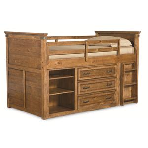 Legacy Classic Kids Bryce Canyon Twin Mid Loft Bed