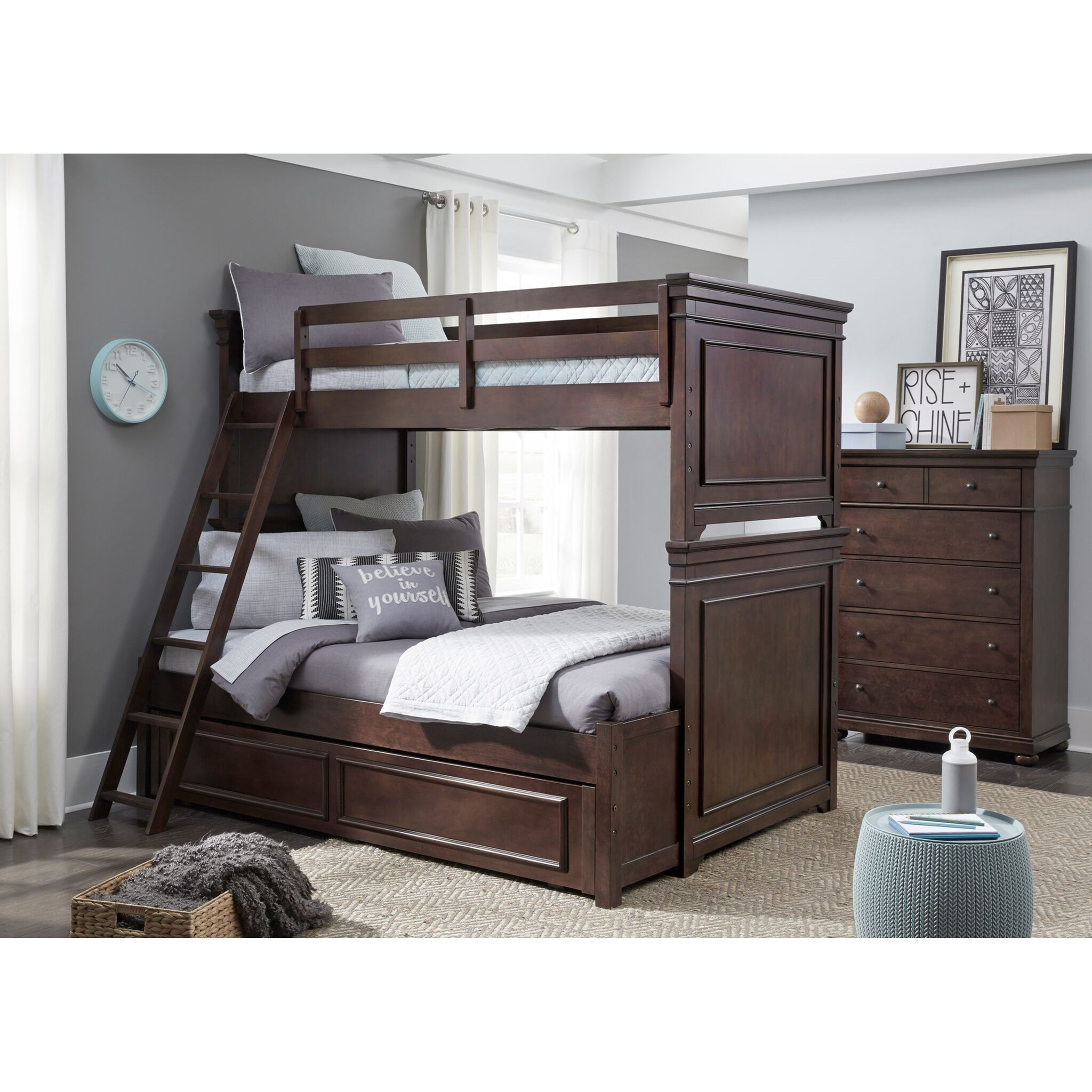 Canterbury Twin-over-Full Bunk Bedroom Group by Legacy Classic Kids at Crowley Furniture & Mattress