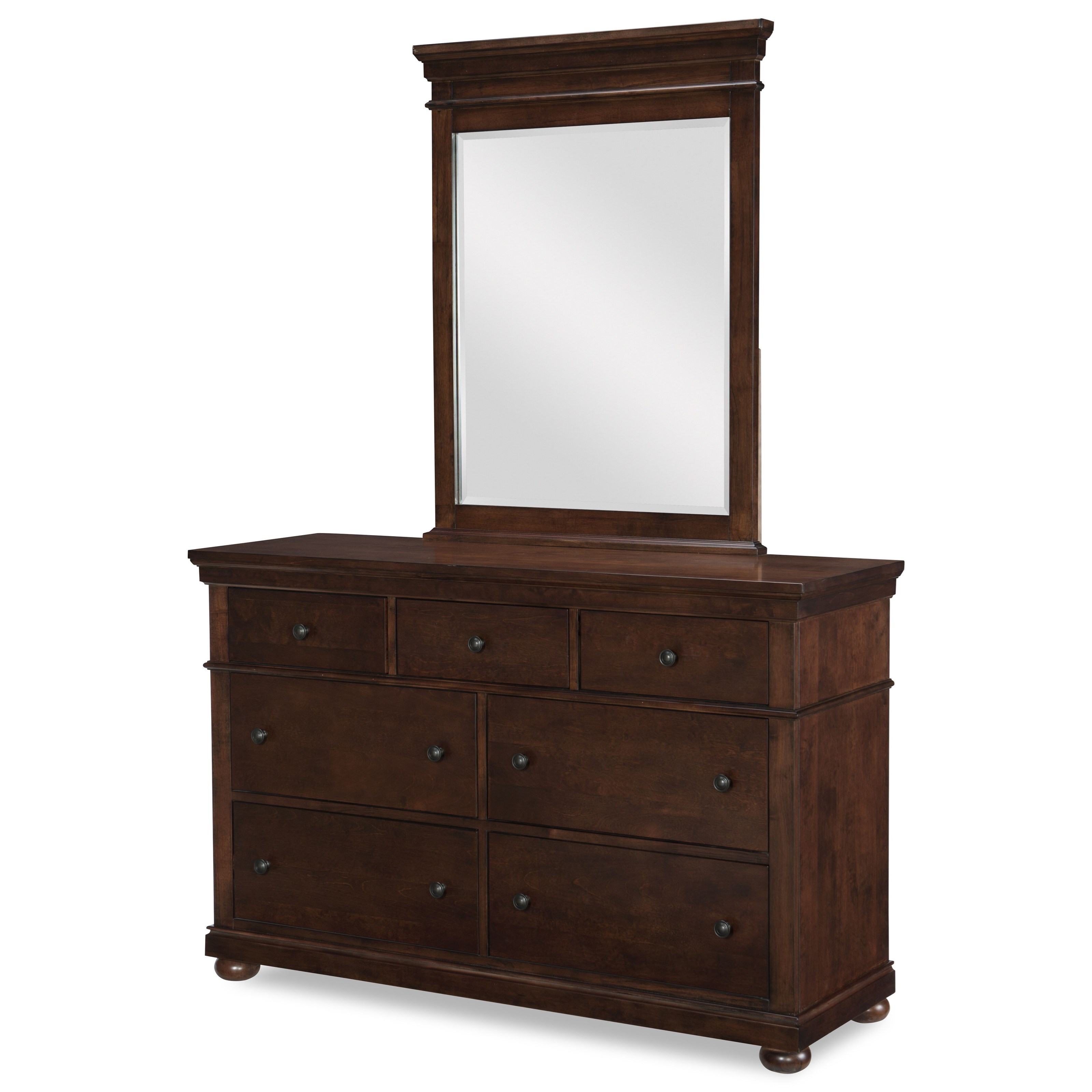 Canterbury Dresser and Mirror Set by Legacy Classic Kids at Crowley Furniture & Mattress