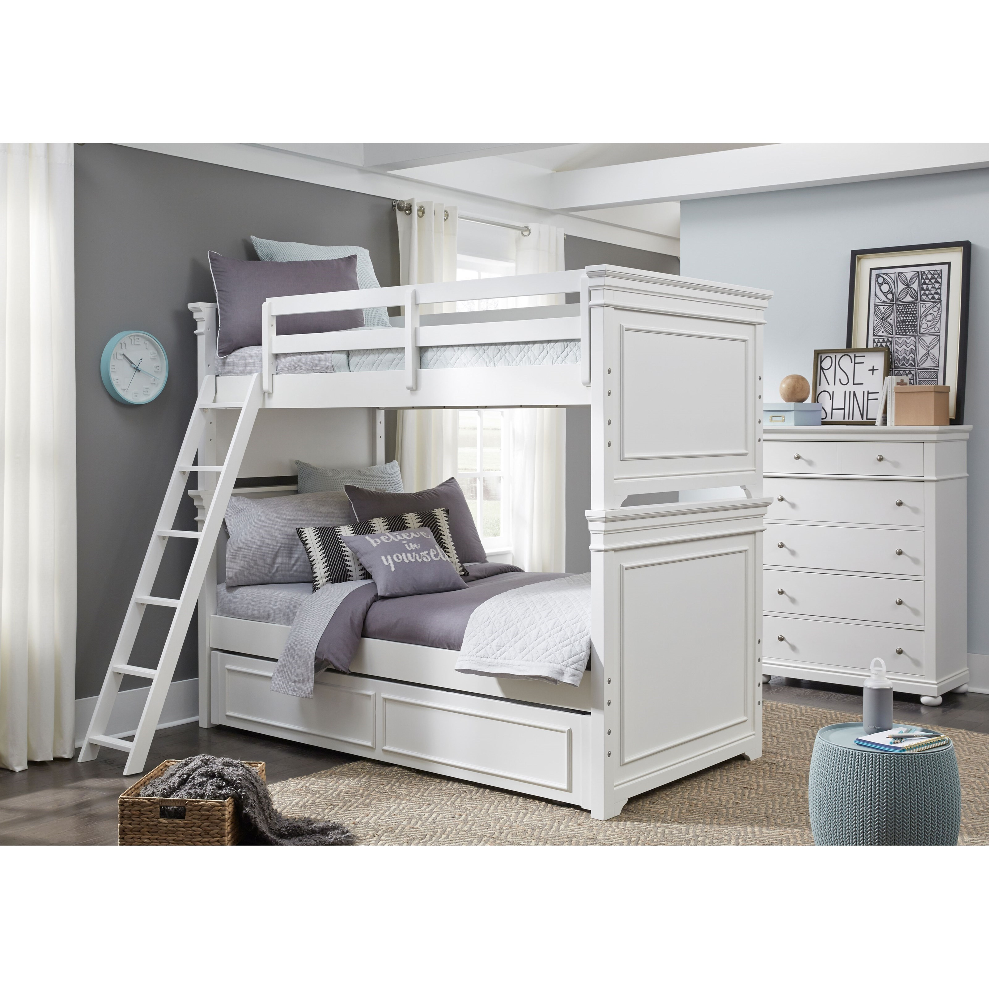 Canterbury Twin-over-Twin Bunk Bedroom Group by Legacy Classic Kids at Suburban Furniture