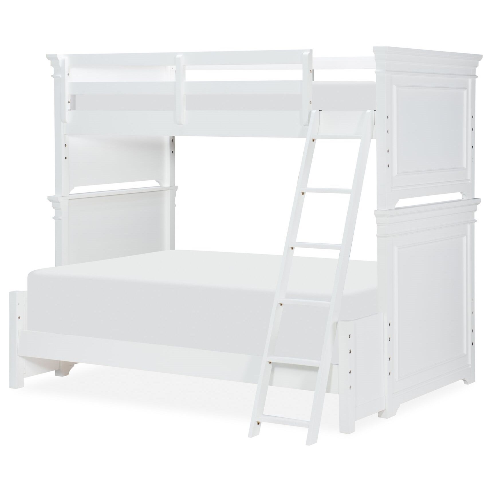 Canterbury Twin over Full Bunk  by Legacy Classic Kids at EFO Furniture Outlet