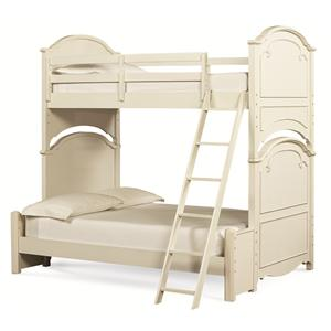 Legacy Classic Kids Charlotte Twin Over Full Bunk Bed