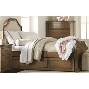 Legacy Classic Kids Danielle Twin Upholstered Panel Bed with Trundle