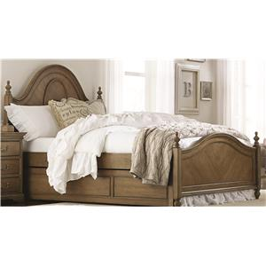Legacy Classic Kids Danielle Twin Low Poster Bed with Trundle