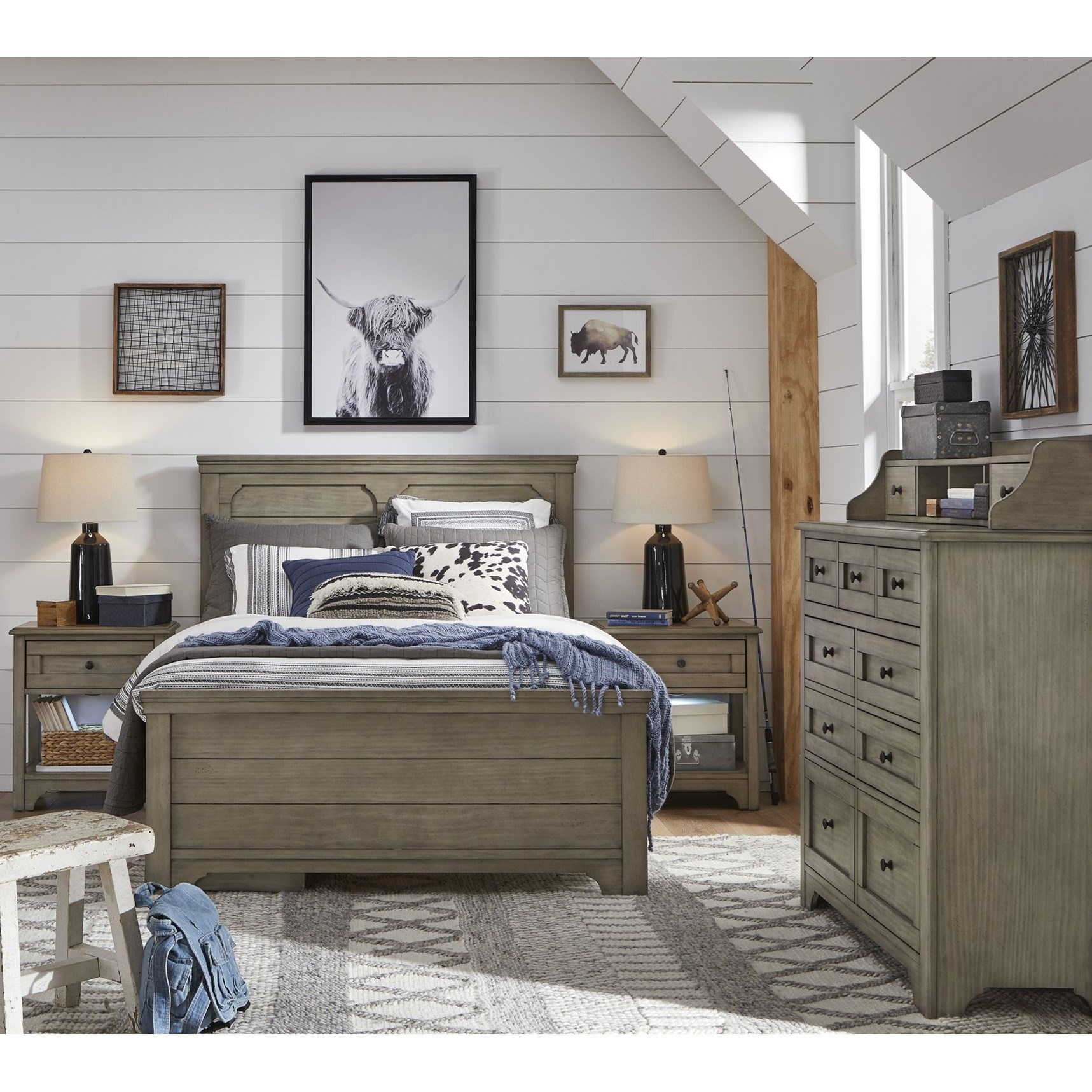 Farm House Full Bedroom Group by Legacy Classic Kids at Mueller Furniture