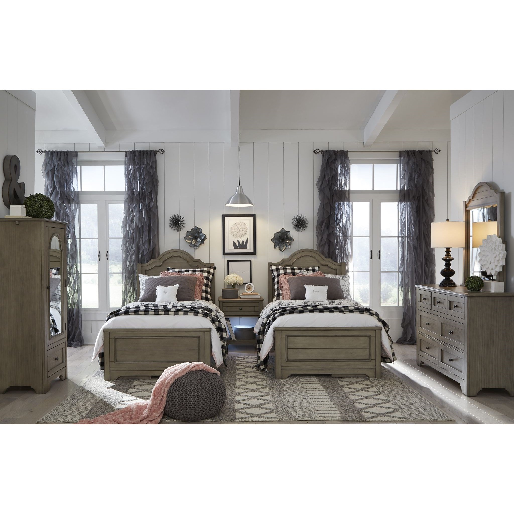 Farm House Twin Bedroom Group by Legacy Classic Kids at Mueller Furniture