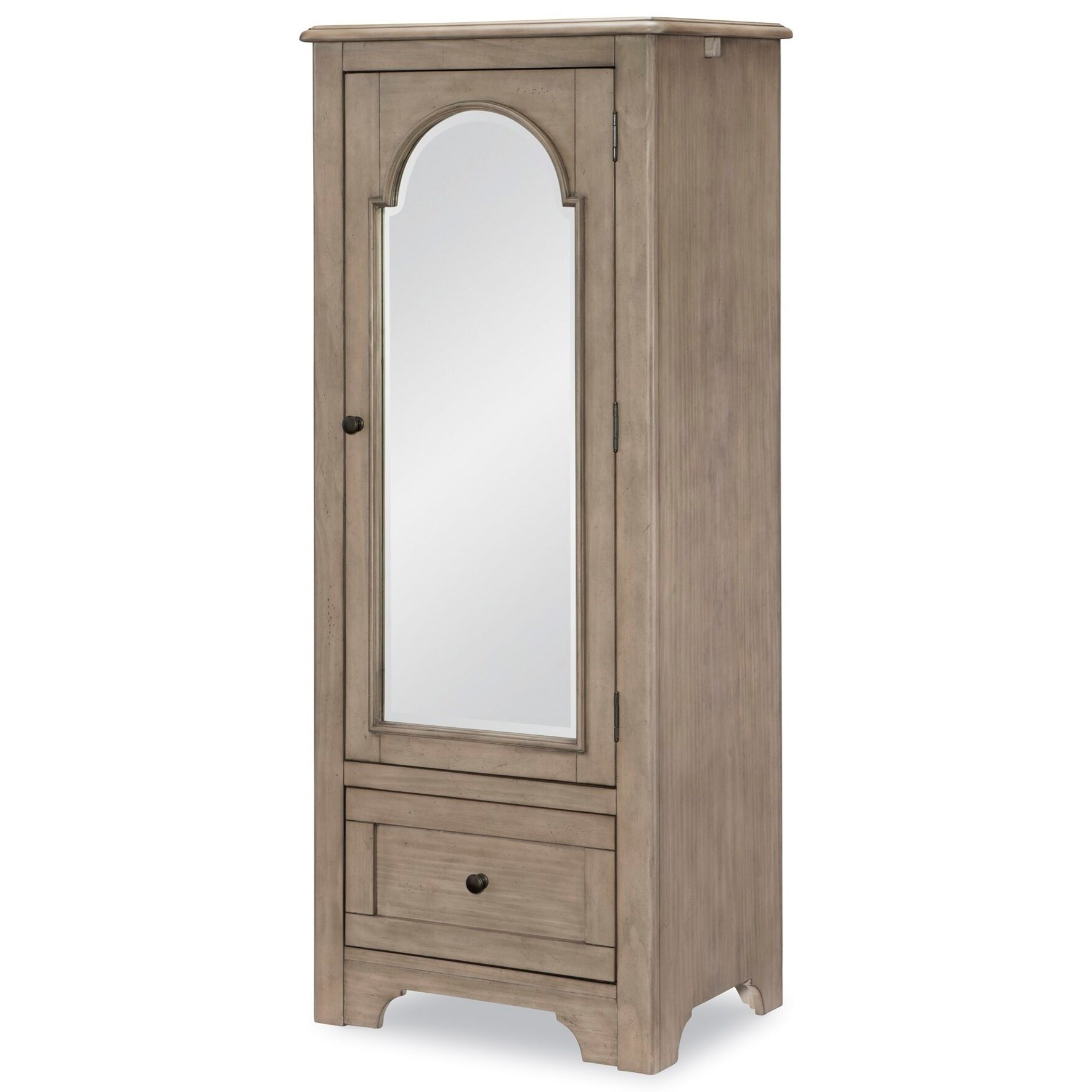 Farm House Mirrored Door Chest by Legacy Classic Kids at Mueller Furniture