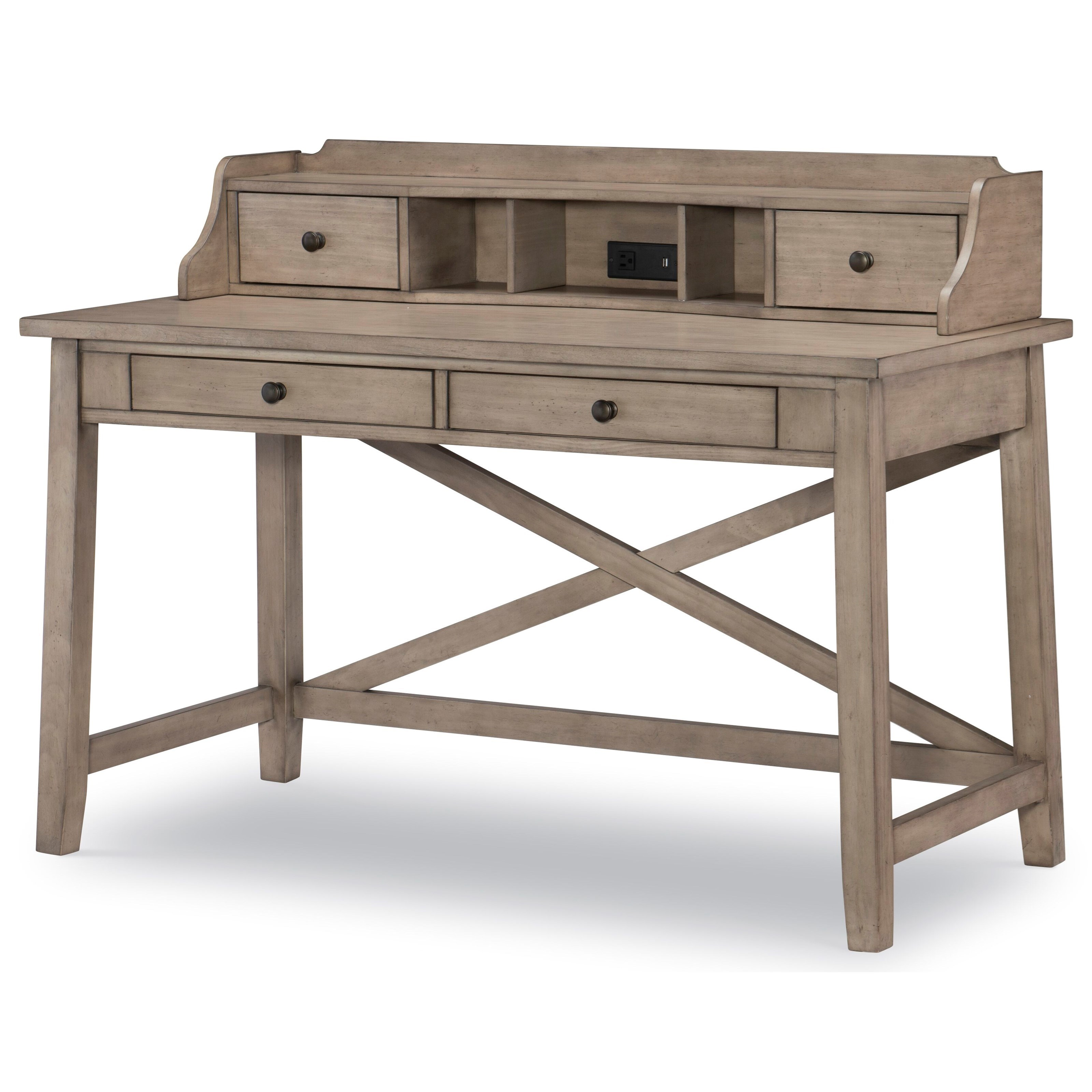 Farm House Desk and Hutch by Legacy Classic Kids at Mueller Furniture