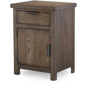 Night Stand with Drawer and Door