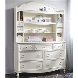 Legacy Classic Kids Harmony Dresser + Changing Hutch