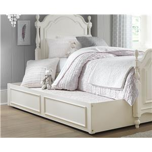 Legacy Classic Kids Harmony Summerset Low Poster Twin Bed with Trundle