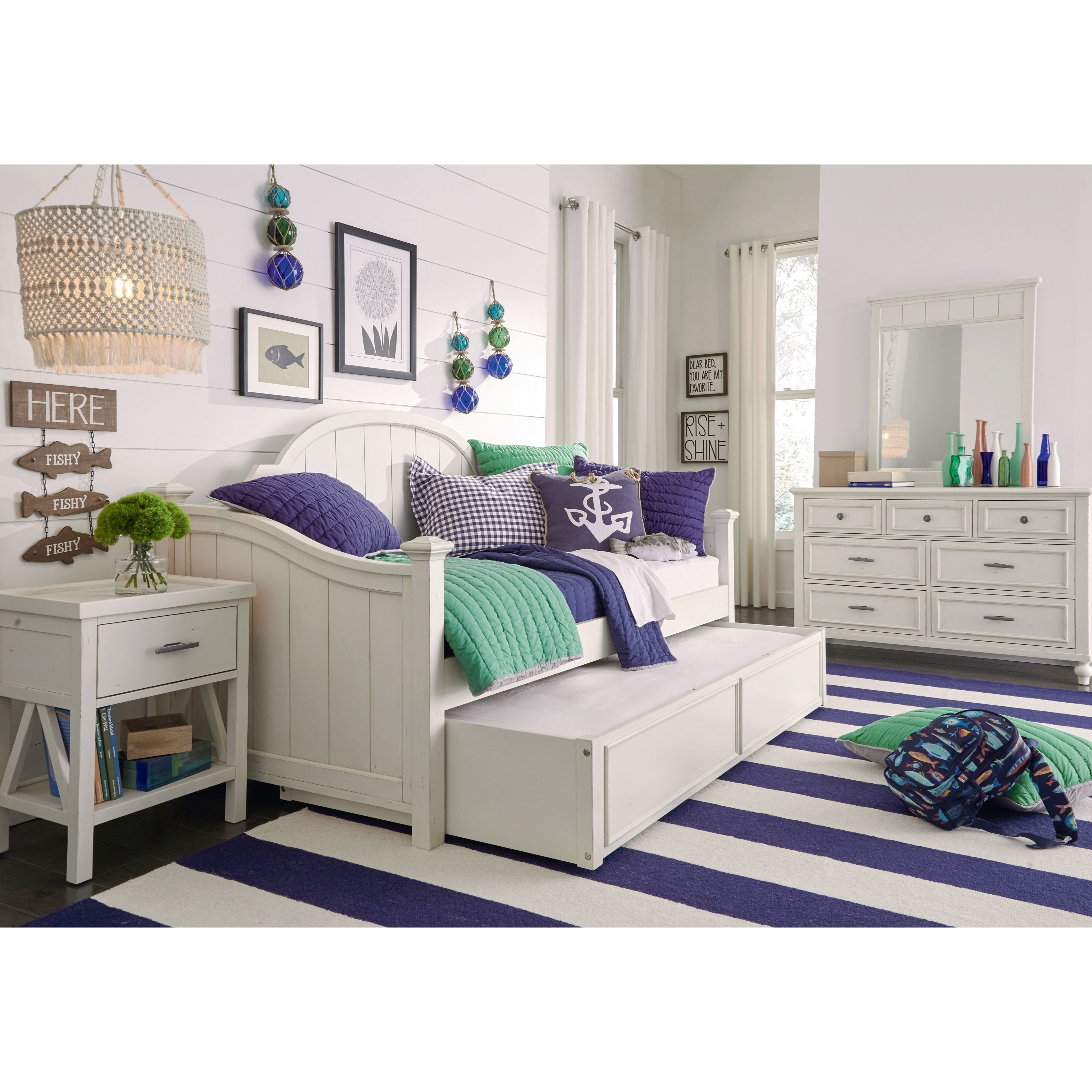 Lake House Twin Daybed Bedroom Group by Legacy Classic Kids at Pilgrim Furniture City